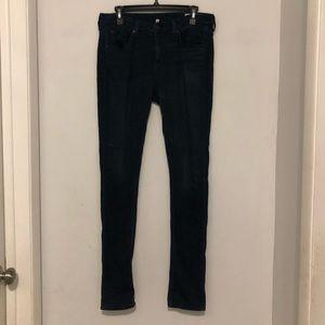 Rag & Bone High Rise Skinny Jeans Size 29